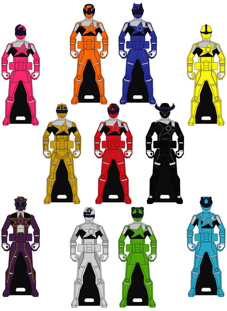 Ranger Keys: Uchuu Sentai Kyuranger by Axusho