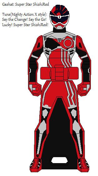 Ranger Key:Kamen Rider Ex-Aid ShishiRed Gamer LV.2 by Axusho