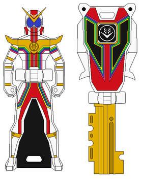 Zenkaiser Ranger Key