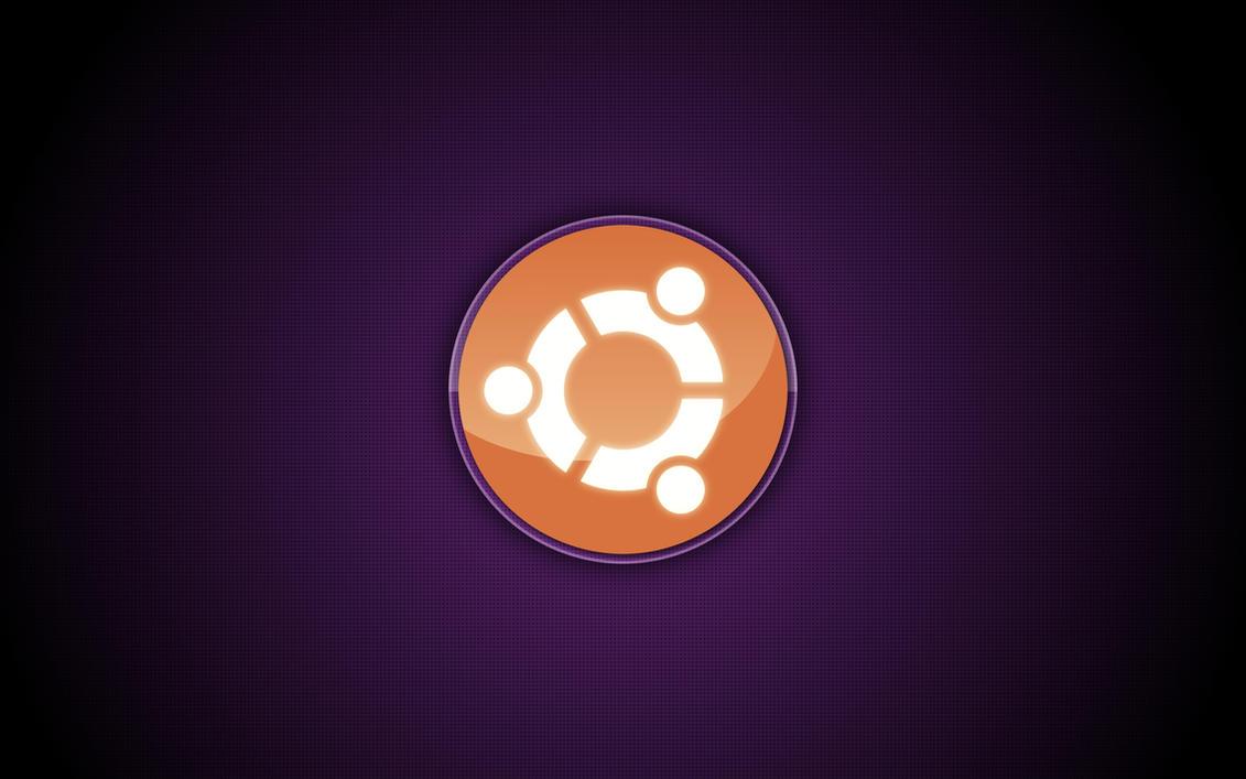 Ubuntu logo wallpaper by MrMassiveManMeat