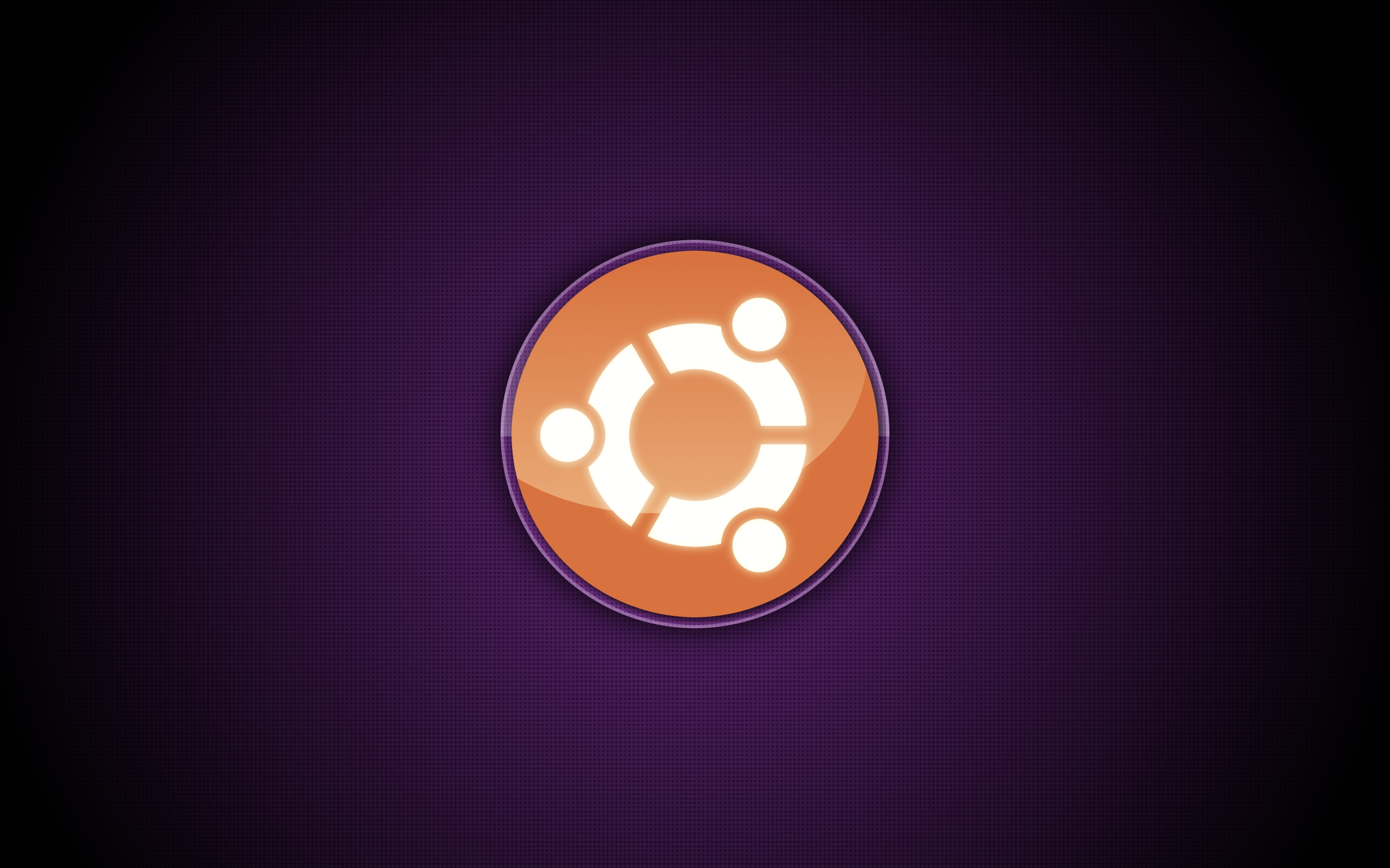 Ubuntu logo wallpaper by MrMassiveManMeat