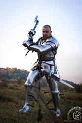 Knight set for battle by slavaemris