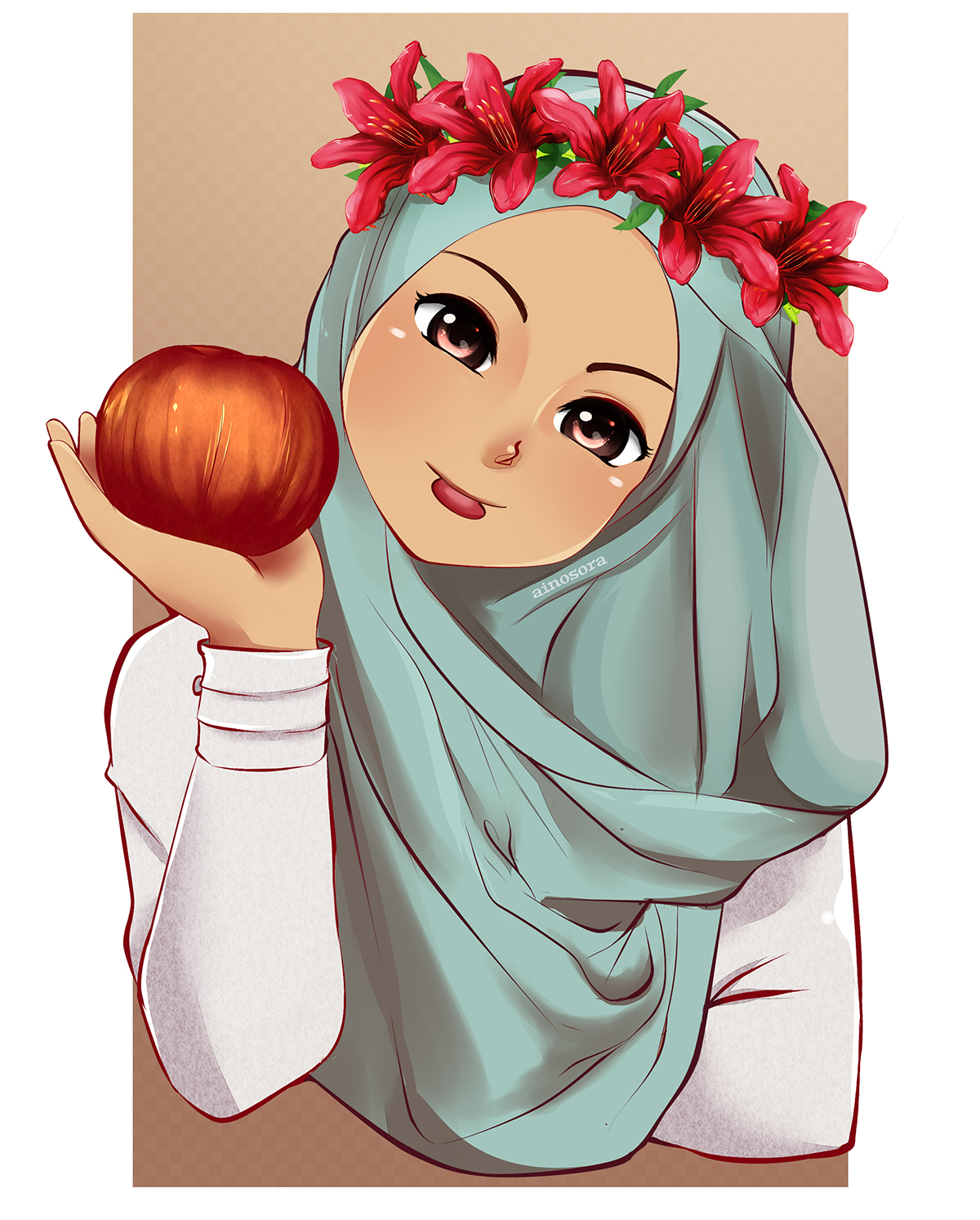 fruit_by_ainosoradaf8cpk.jpg (1200×1493) Gadis animasi