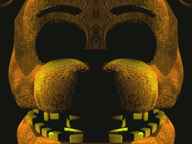 FNAF 2~Golden Freddy unwithered by fordanhuddy33 on DeviantArt