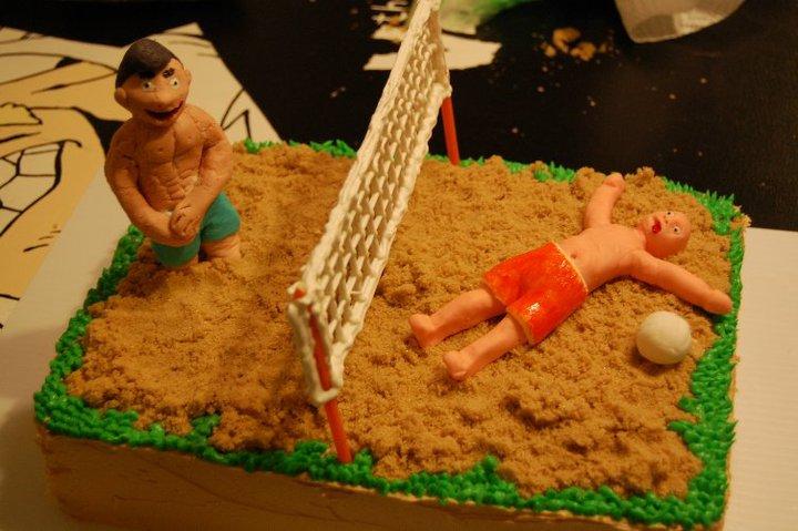 Birthday Volleyball Images Best Birthday Cake 2018