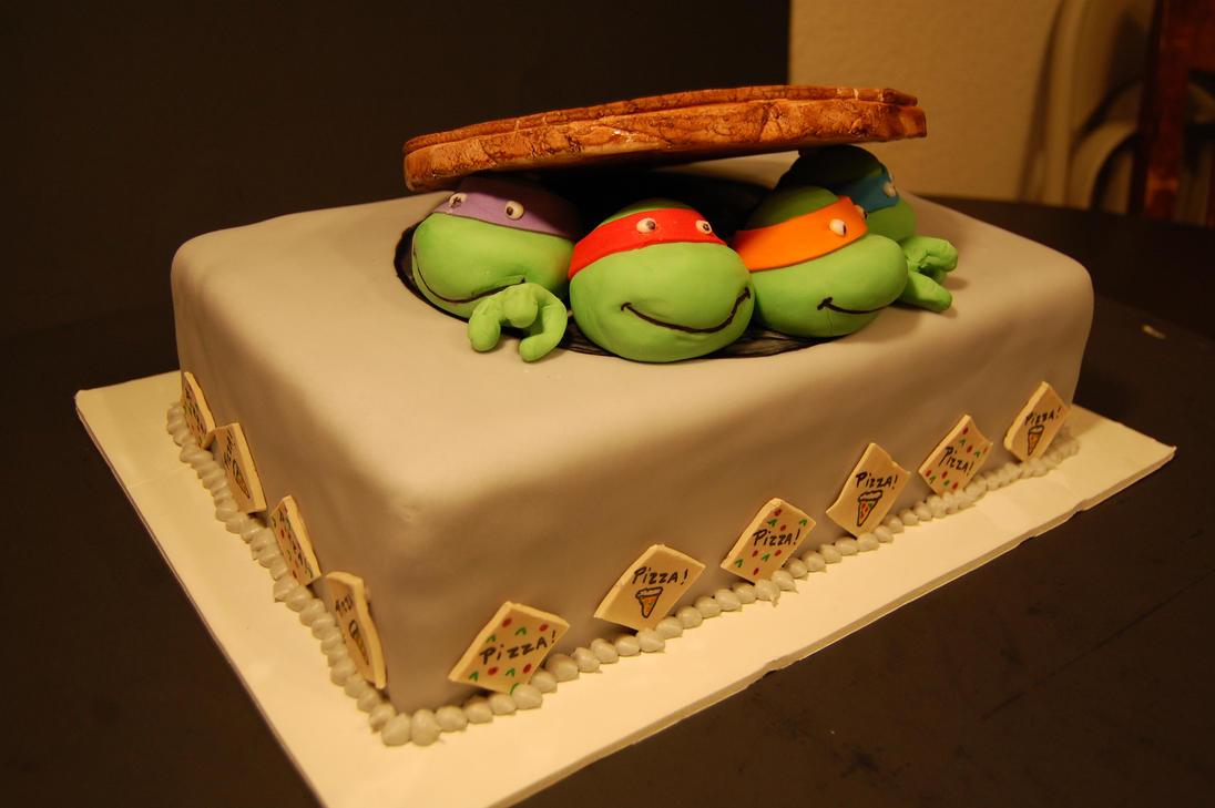 Cake Design Tortue Ninja