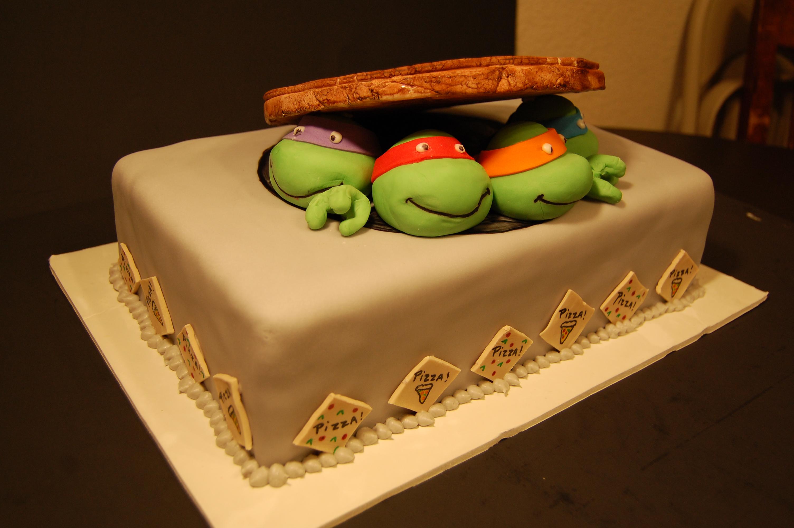 Birthday Cake Tmnt Nickelodeon