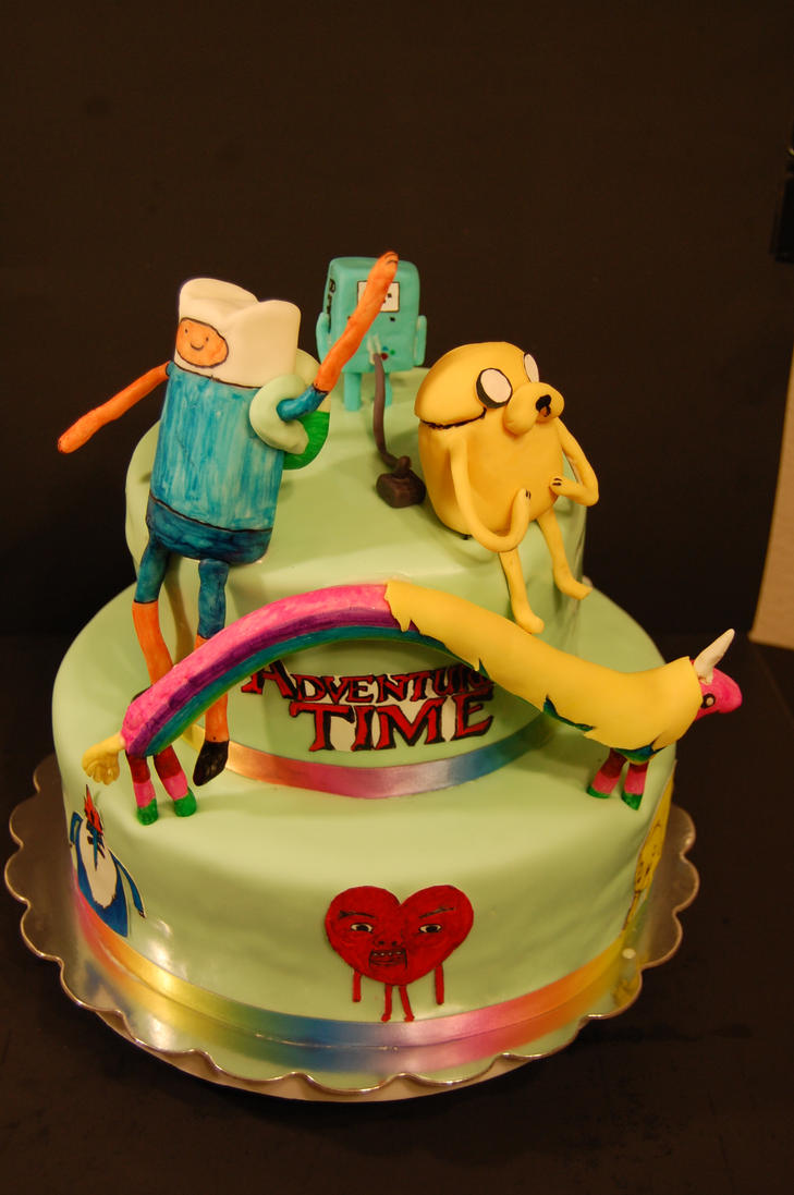 adventure time cake 1 by soup1335 on DeviantArt