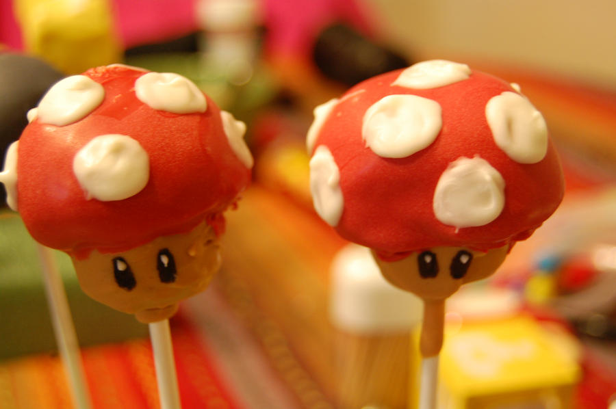 How To Make Mushroom Cake Pops
