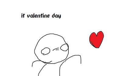 it valentine day by JuiceBoos