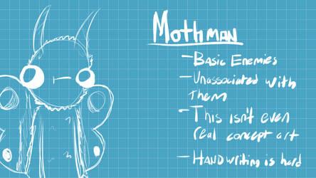 Mothman / 'OddProj' Concept Art by JuiceBoos