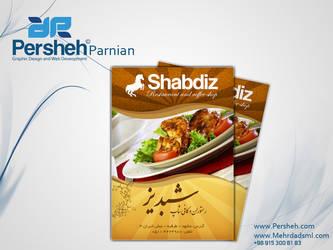 Shabdiz Restaurant Magazine by mehrdadsml