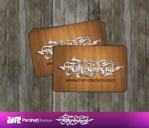 Mehrdadsml Business Card by mehrdadsml