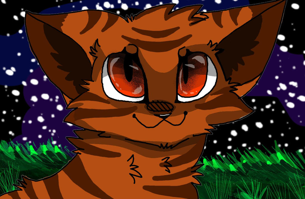 Tigerkit (warrior cats) by umbreoncopper2244