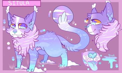 Ref Sheet Commission For Animated-Critter(Holly)