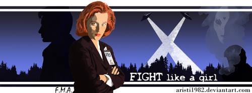 Fight like a girl - Series 10 . Dana