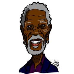 GTC - Morgan Freeman by aristi1982