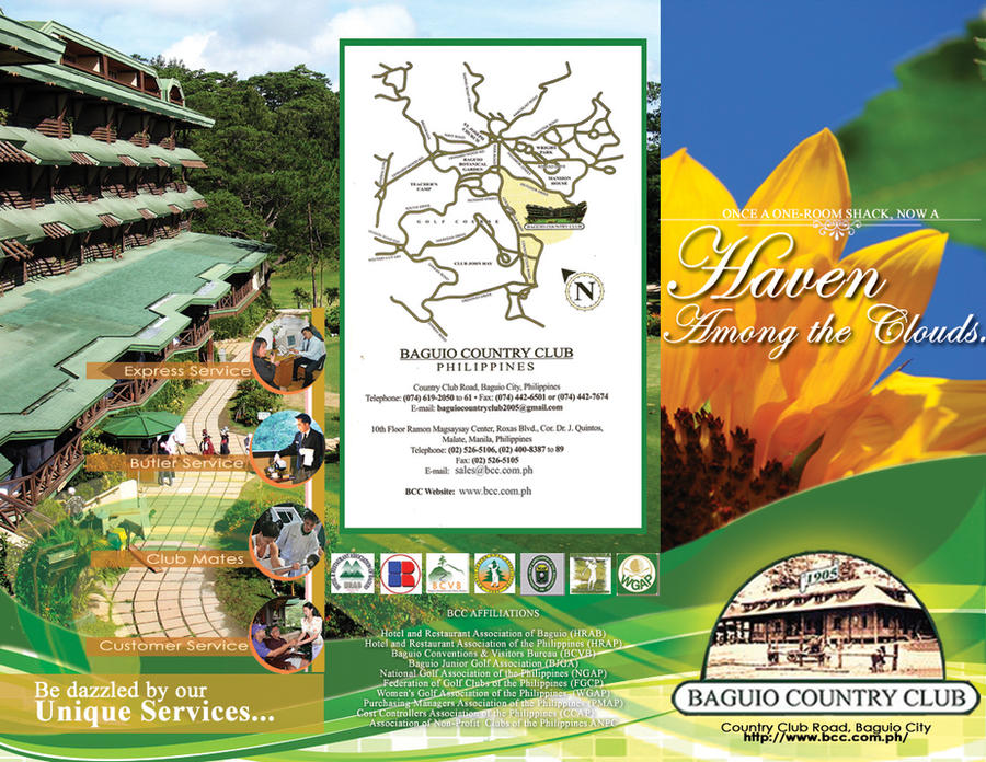 Baguio Country Club Brochure A by joviedayon on DeviantArt