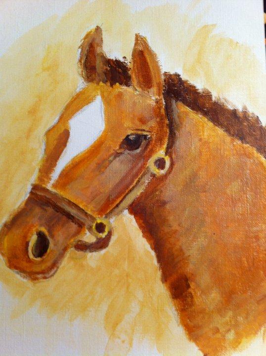 Horse by ForestWarrior12