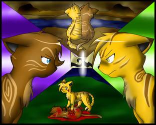 LionxHeather Friend or Foe by Kestrill