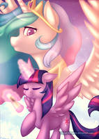 Thank you for believing in me, Princess by CrispyCh0colate