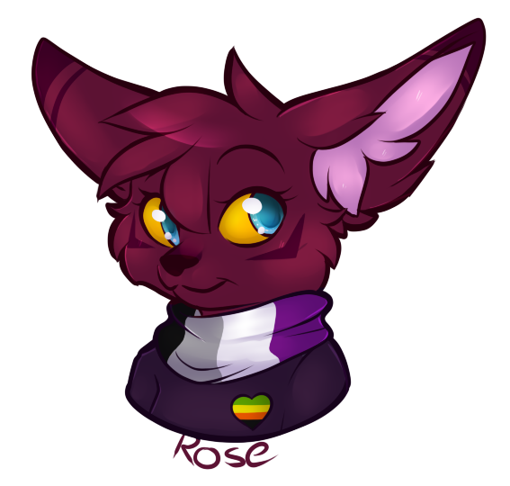 Rose Headshot by CrispyCh0colate