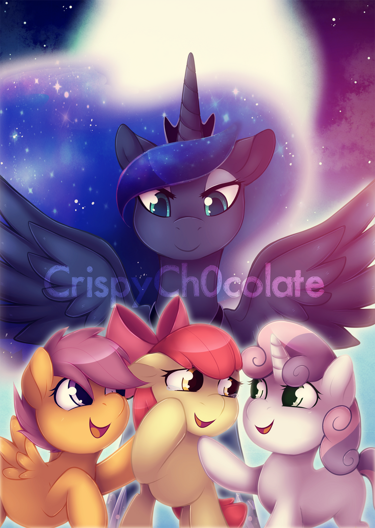 Cutie Crusaders by CrispyCh0colate