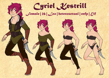 Cyriel Clothing Guide by Kestrill