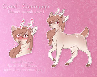 Cyriel | Doe | Commoner by CrispyCh0colate