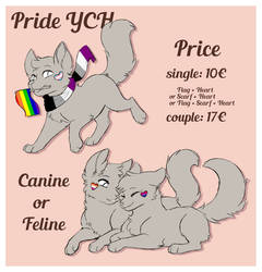 furry pride YCH [OPEN] by Kestrill