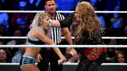 WWE - Nia Jax vs Alexa Bliss by NyoTengu22