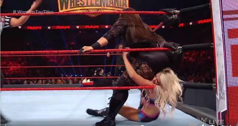 WWE - Nia Jax vs Alexa Bliss 5 by NyoTengu22