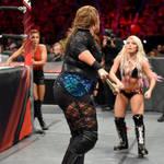 WWE - Nia Jax vs Alexa Bliss 7 by NyoTengu22