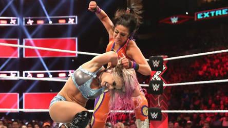 WWE - Bayley vs Alexa Bliss by NyoTengu22