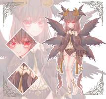 [OPEN] AUCTION ADOPTABLE : DEMON GIRL by Sensei28