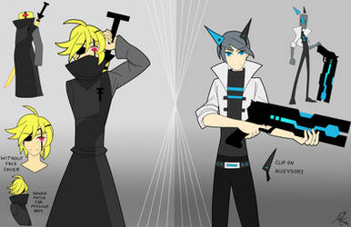 [Humanized Control Contest Entry] Tab and Control by AnikiKenshi