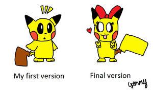 My Pikachu style triology