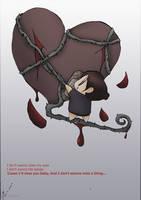 my bleed heart by SleepDera