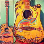 Art on guitar