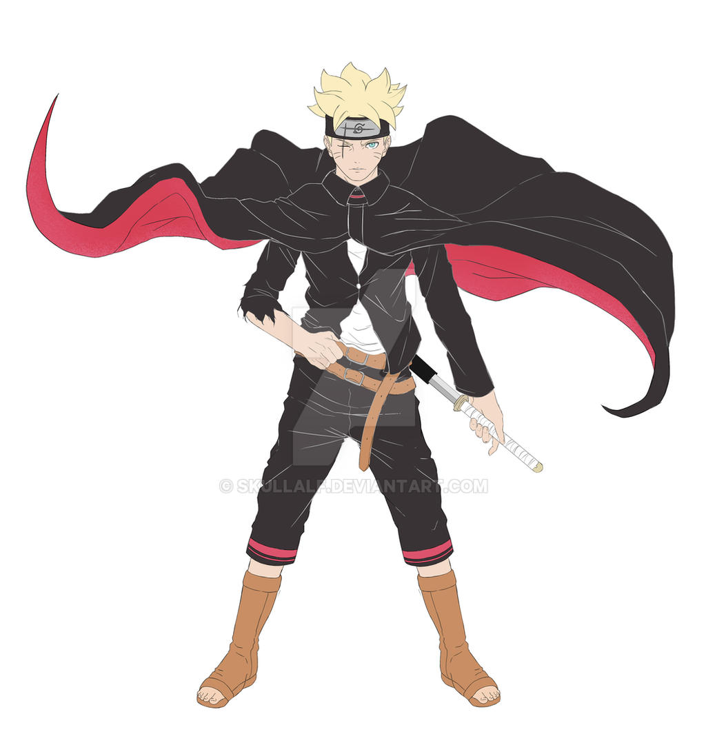 Boruto By Skullalf On Deviantart