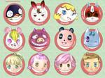 Animal Crossing charas