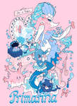 Primarina and her family