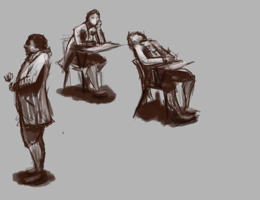 Old time school by LDethHorse