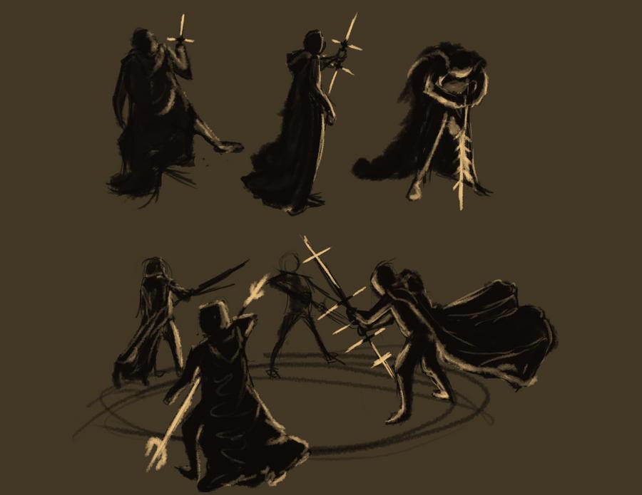 Dark Gesture by LDethHorse