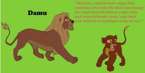 Damu- Like many males