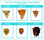 Semi Canon Character Challenge 8