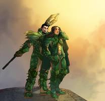 Dragon - Defiant by aerryi