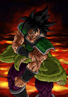 Broly getting beat by stanmoua