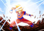 Goku Ready for a fight
