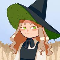 Garden Witch by ptntm